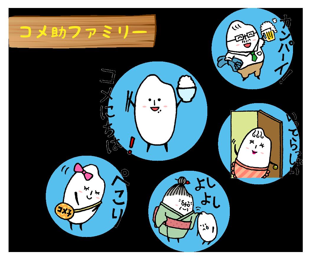 コメ助サブレ / TOPページ